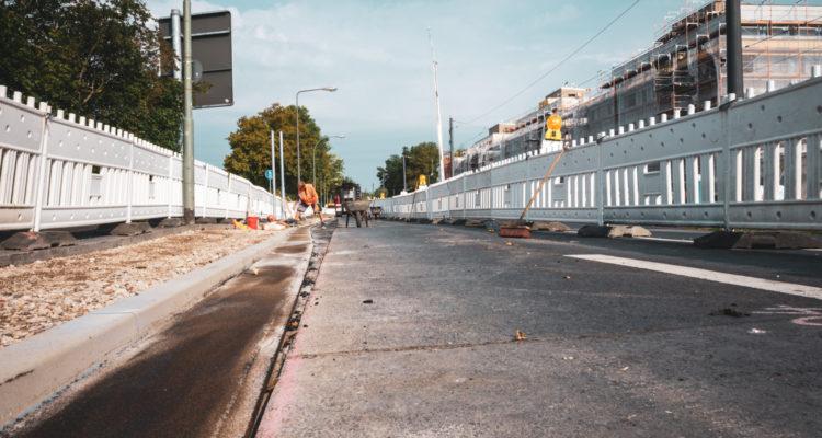 Mainzer Landstraße, Bauvorhaben